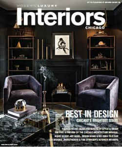 Modern Luxury Interiors Chicago - Winter/Spring 2015