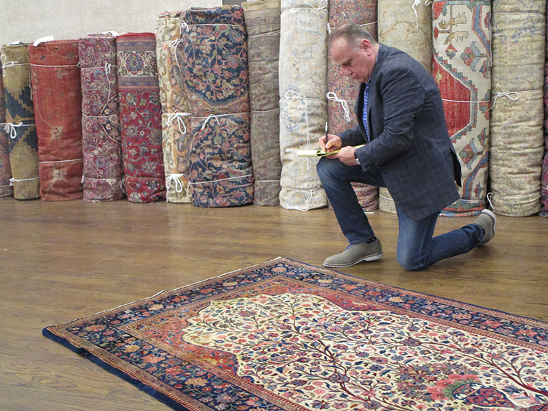 Superior ... Origin And Age Of The Rug, And Then Evaluate Color, Design,  Craftsmanship And Current Condition. We Will Provide You With A Full Report  Of Our Findings, ...