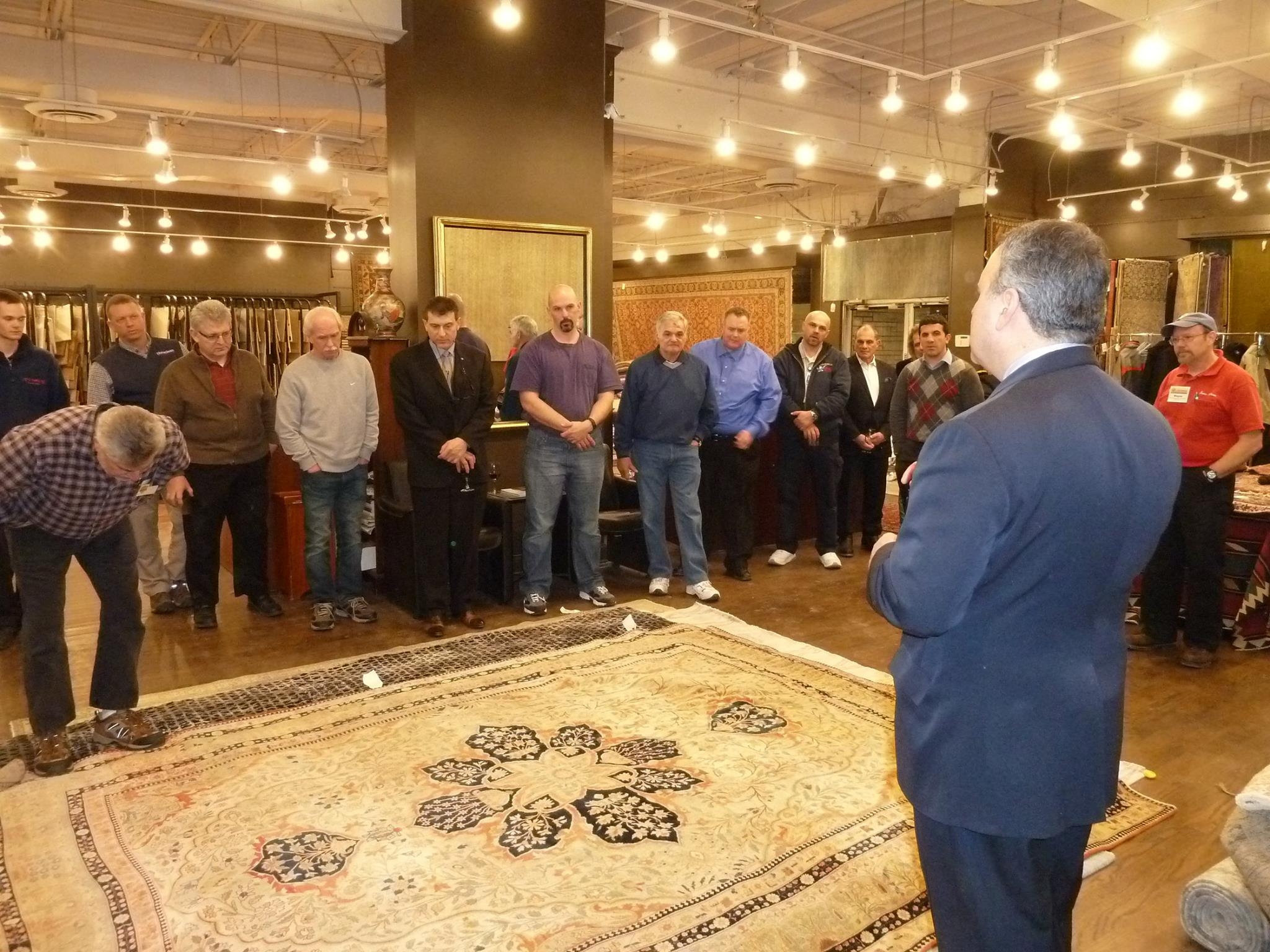 An Armenian Buffet Dinner And Drinks Were Served At The Wednesday, Feb. 18  Event. We Brought In Our Own Rug Repair Specialists To Demonstrate The Art  Of ...