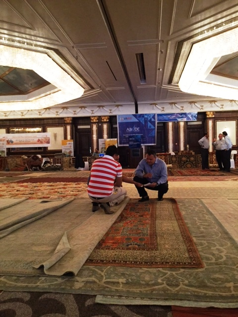 Three Days In Dubai: The Afghan Rug Conference