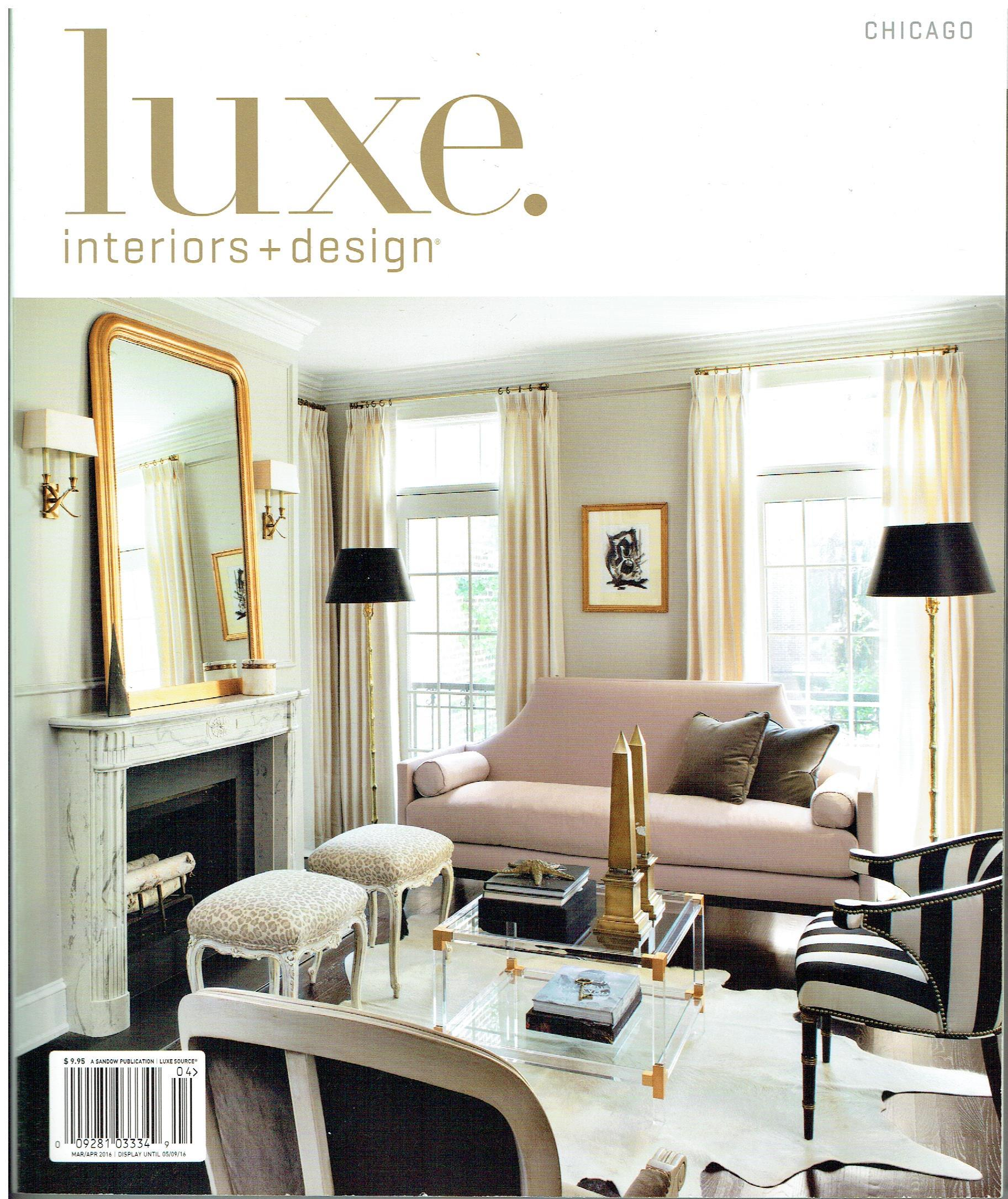 In the press luxe oscar isberian rugs chicago for Luxe furniture and design