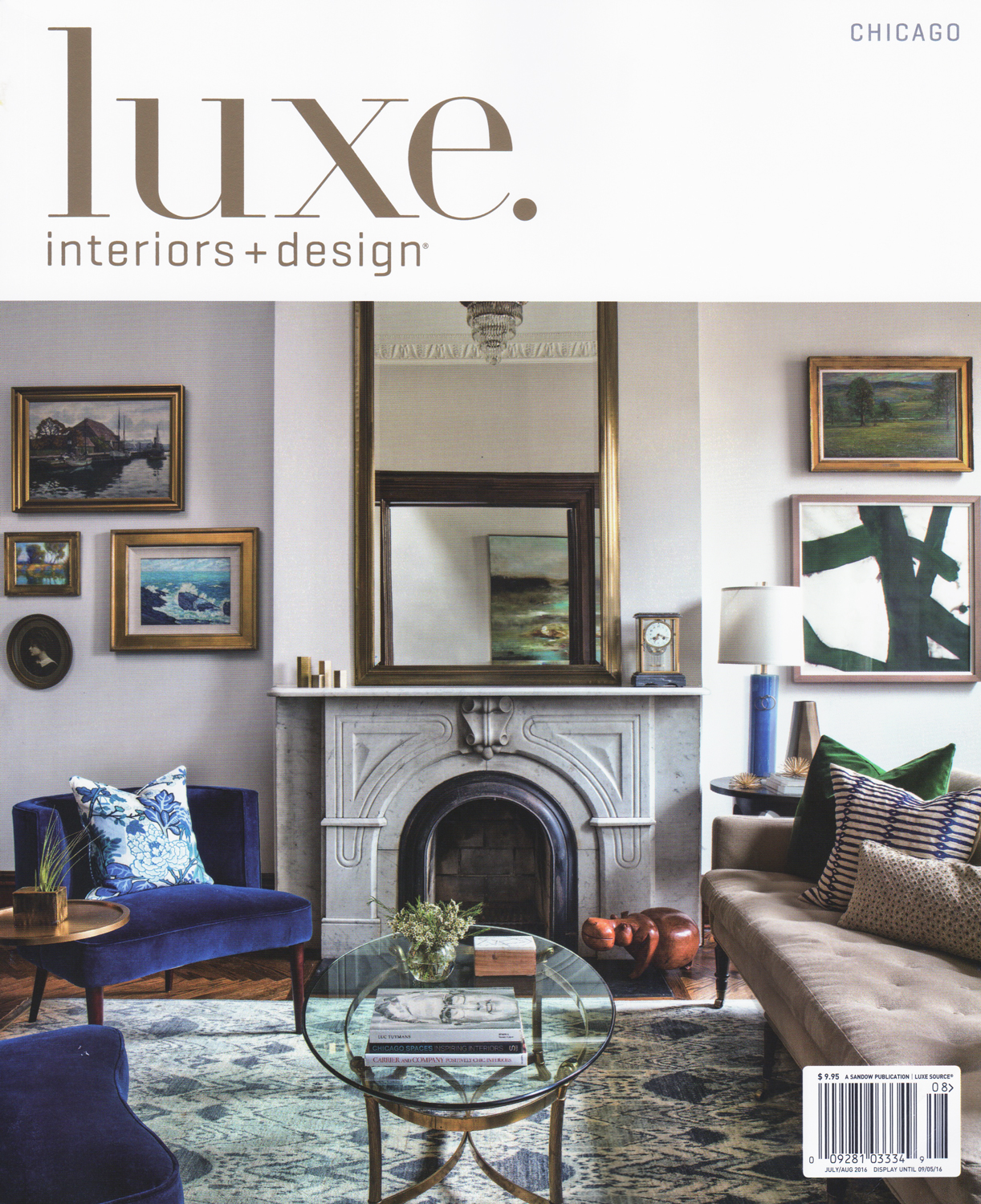 We 39 Re In Two Luxe Magazine Features For July August Oscar Isberian Rugs Chicago