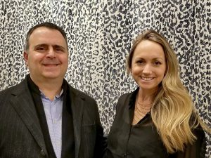 Oscar Isberian With Brianne Jones