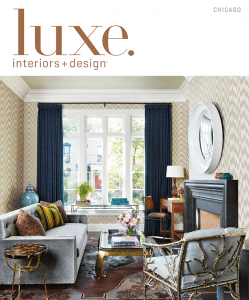 We're in Luxe Interiors Magazine May/June issue!