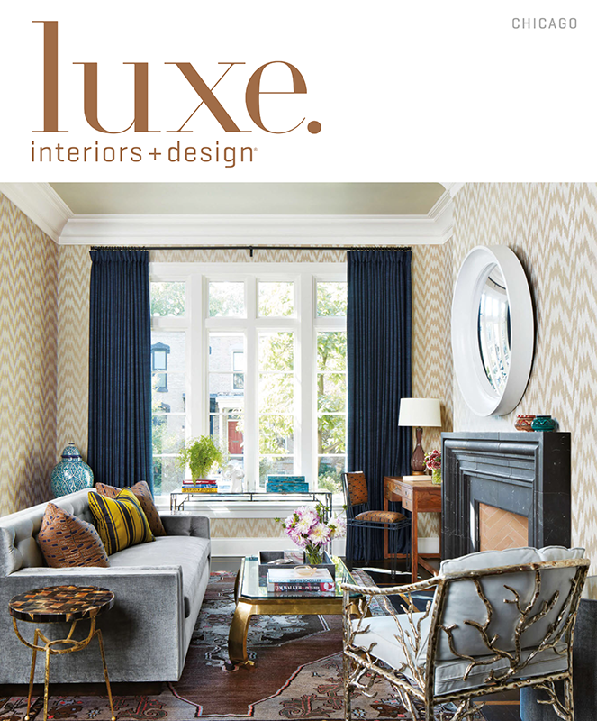 Were In Luxe Interiors Magazine May June Issue