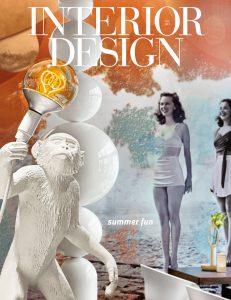 Oscar Isberian Rugs featured in Interior Design Magazine