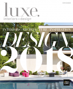 Our rugs in Luxe Interiors Design 2018 Issue