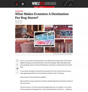 Feature: What Makes Evanston a Destination for Rug Stores