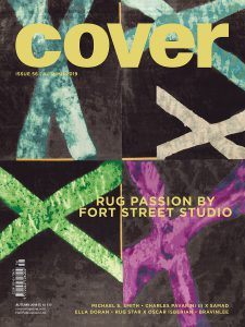 Rug Star x Oscar Isberian Rugs Feature in Cover Magazine