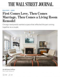 A Remodeled Living Room for a Newlyweds' Fresh Start